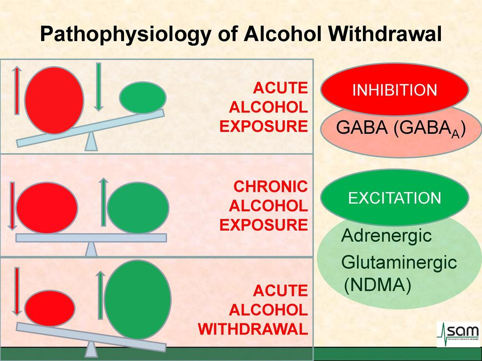 CHRONIC ALCOHOL EXPOSURE ACUTE ALCOHOL