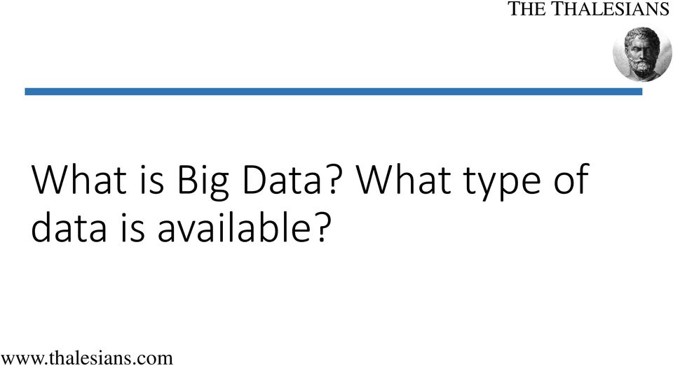 type of data
