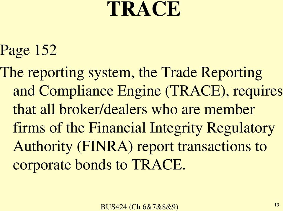 who are member firms of the Financial Integrity Regulatory