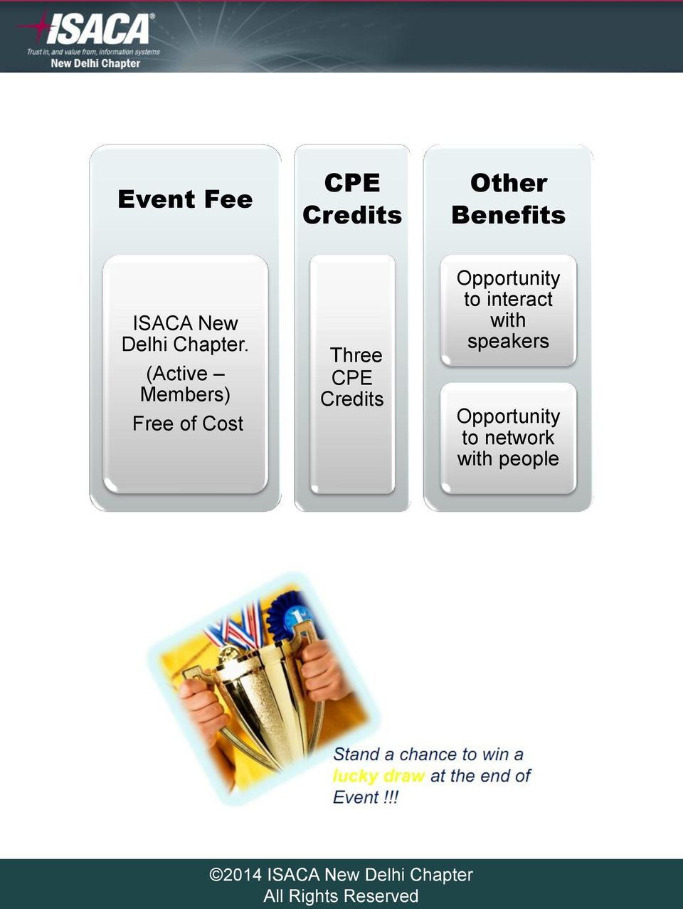 (Active Members) Free of Cost Three CPE
