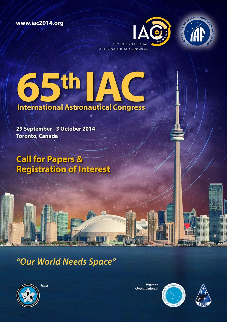 2014 Toronto, Canada Call for Papers &