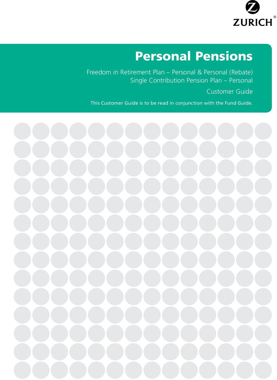 Pension Plan Personal Customer Guide This