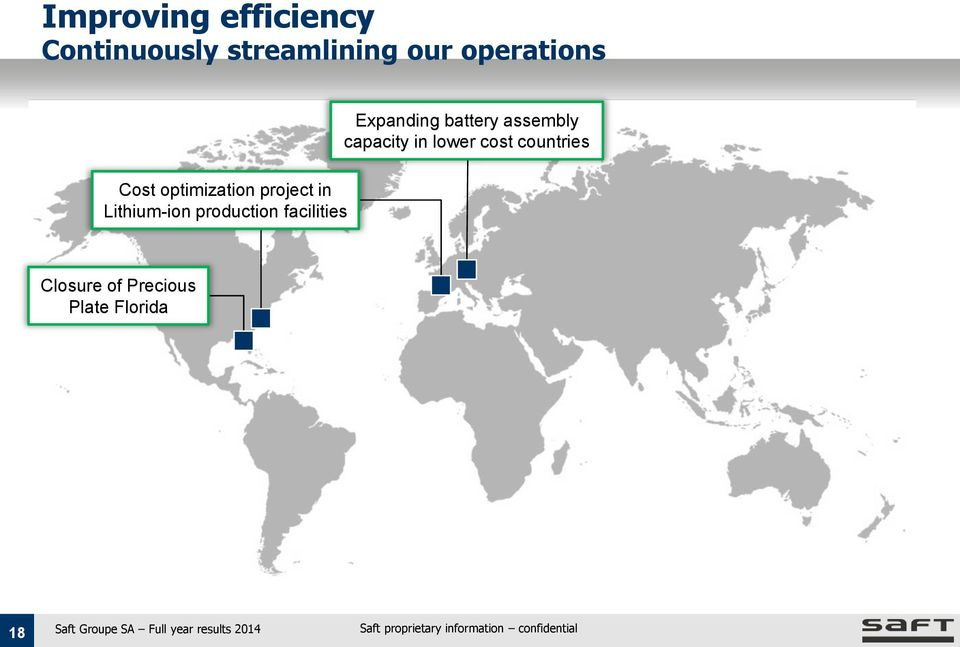 production facilities Expanding battery assembly