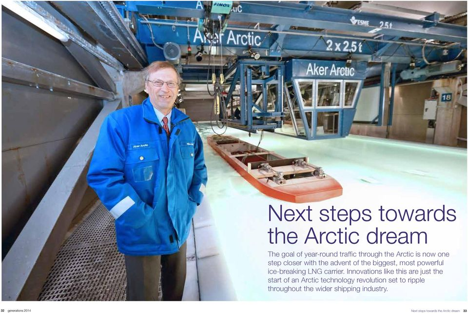 Innovations like this are just the start of an Arctic technology revolution set to ripple