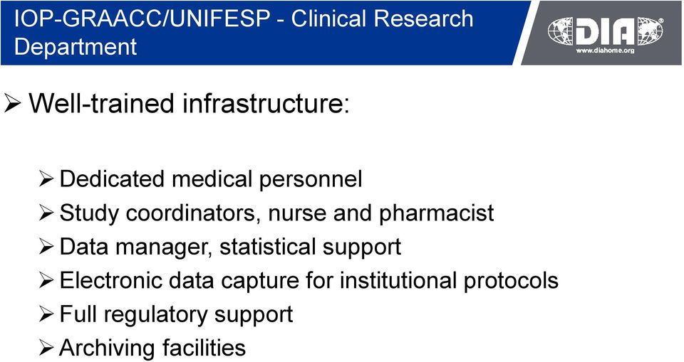 and pharmacist Data manager, statistical support Electronic data