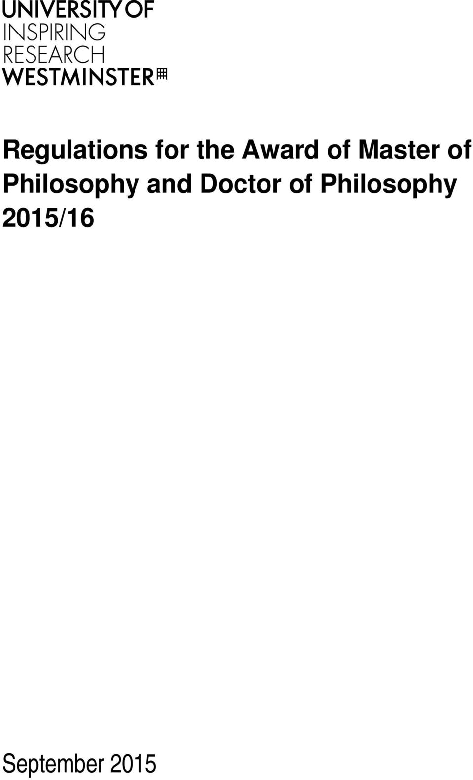 Philosophy and Doctor of