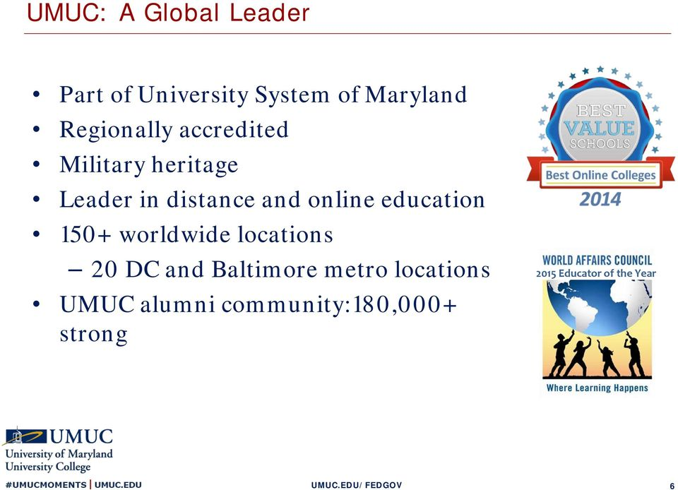 online education 150+ worldwide locations 20 DC and Baltimore