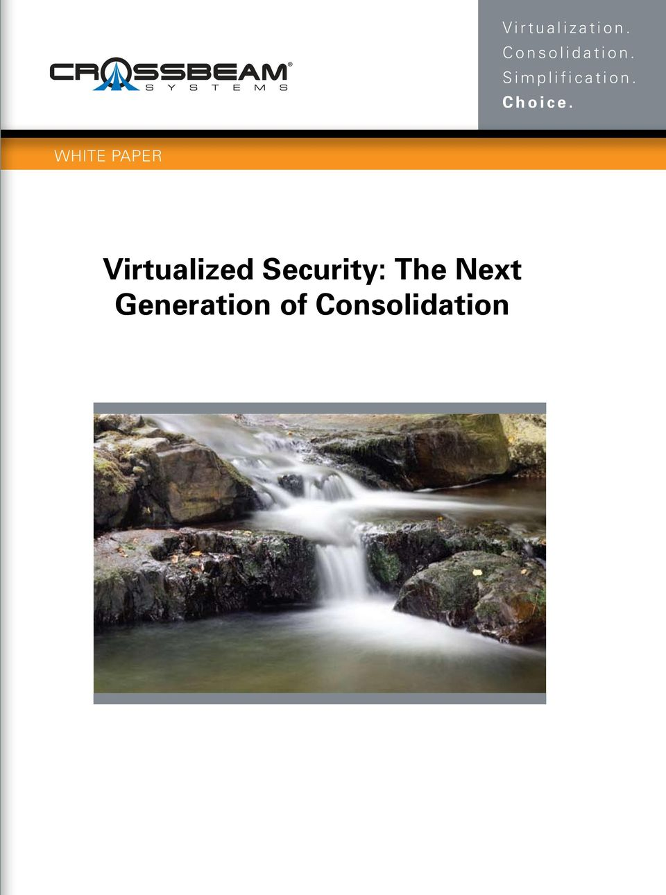 WHITE PAPER Virtualized
