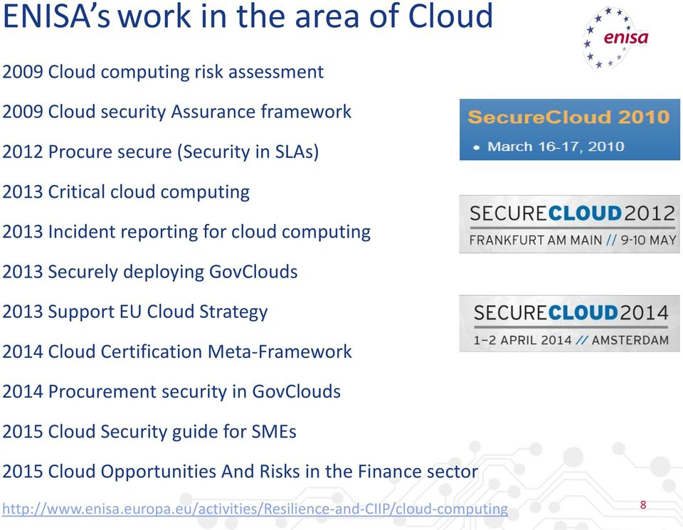 Enisa And Cloud Security Pdf