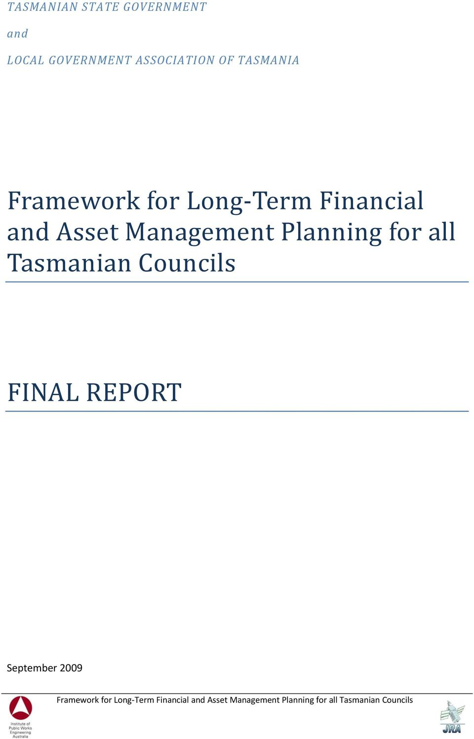 Financial and Asset Management Planning for all