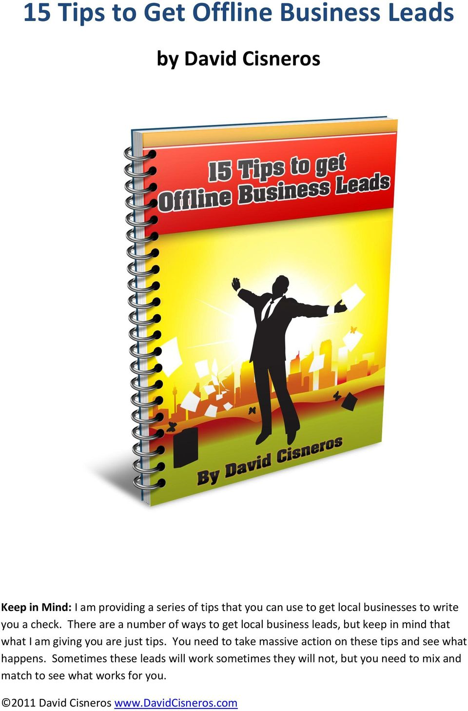 how to get leads for your business