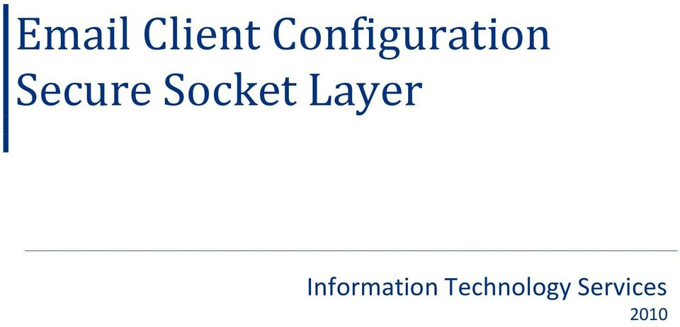 Socket Layer
