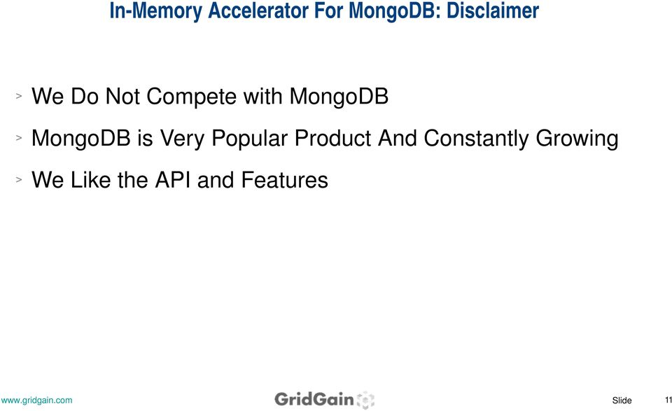 MongoDB MongoDB is Very Popular Product