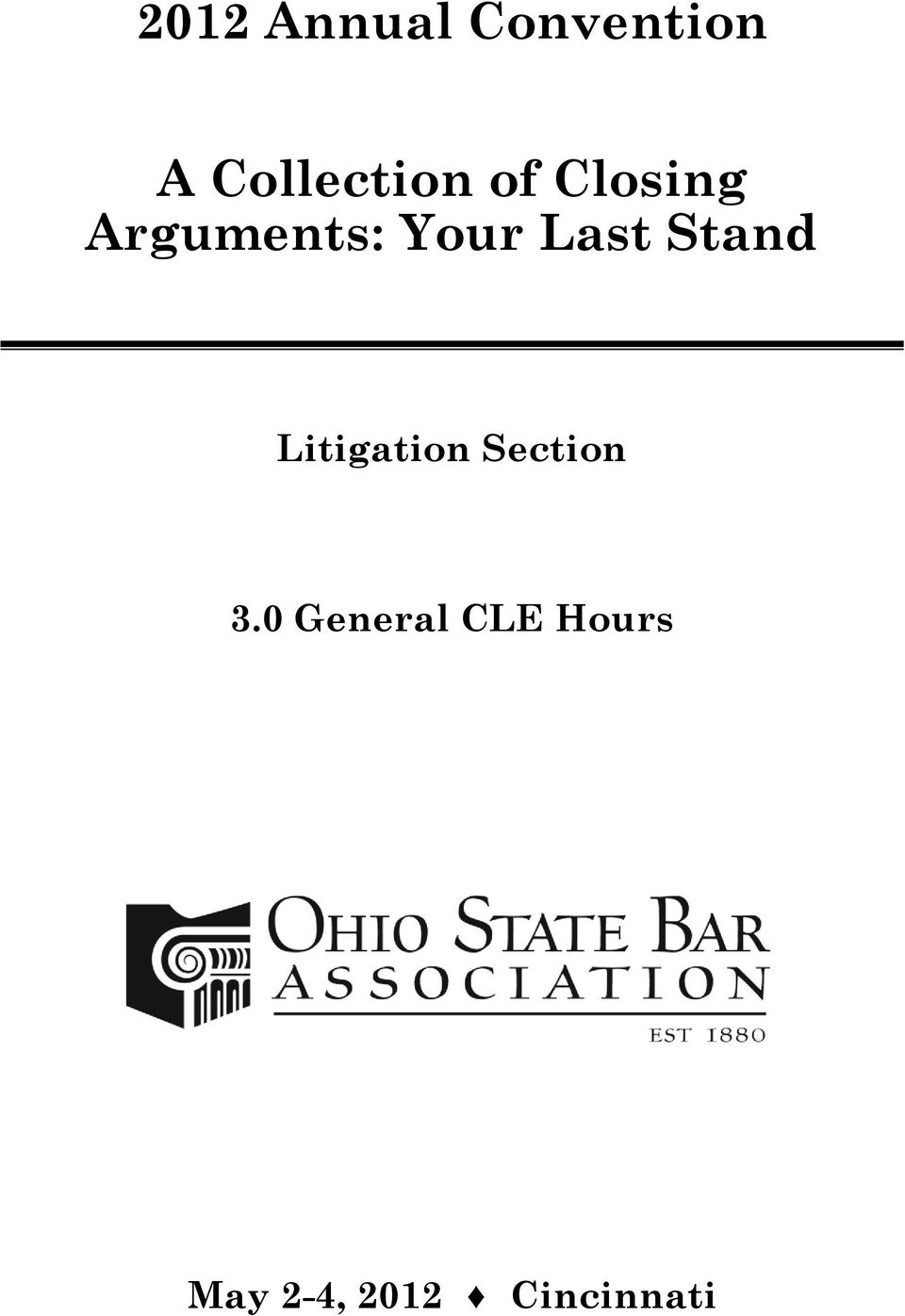Your Last Stand Litigation Section