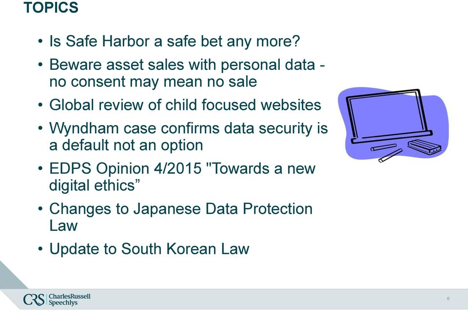 of child focused websites Wyndham case confirms data security is a default not an
