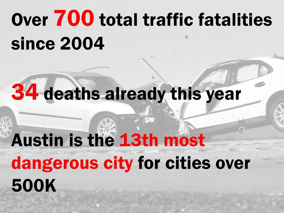 most dangerous city for cities over 500K
