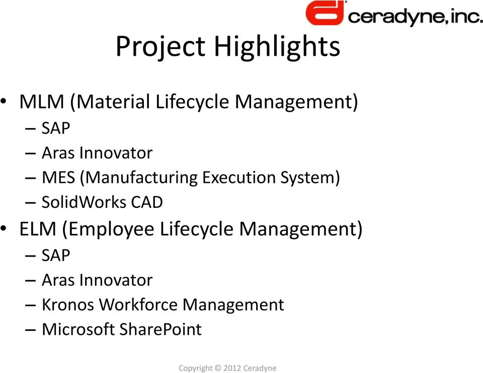 SolidWorks CAD ELM (Employee Lifecycle Management) SAP