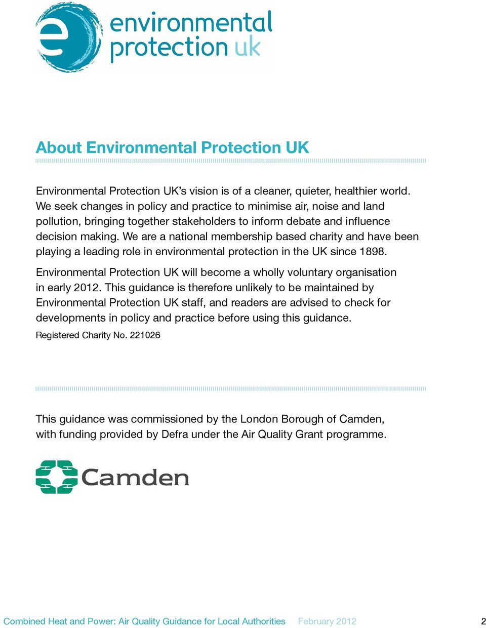 We are a national membership based charity and have been playing a leading role in environmental protection in the UK since 1898.