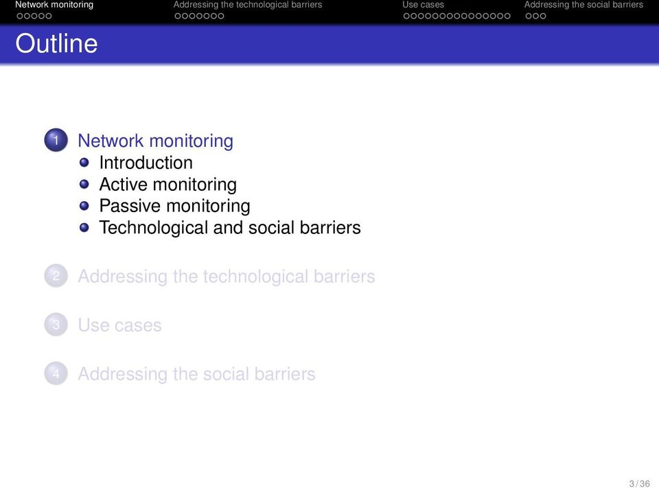 social barriers 2 Addressing the technological