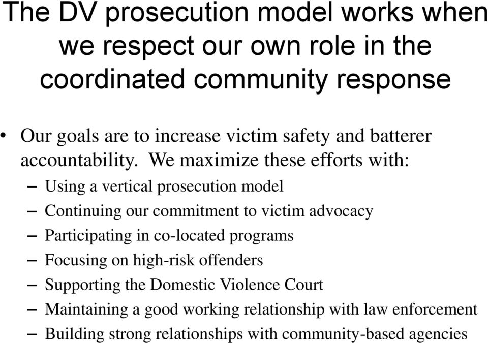 prosecuting domestic violence without victim participation