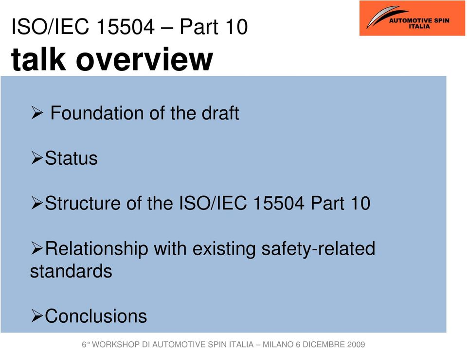 of the ISO/IEC 15504 Part 10 Relationship