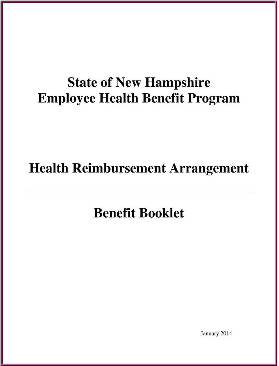 Program Health Reimbursement