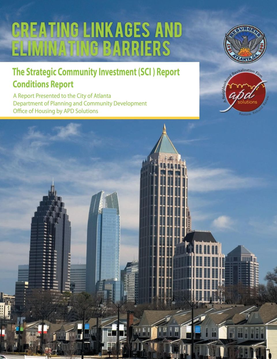 the City of Atlanta Department of Planning and