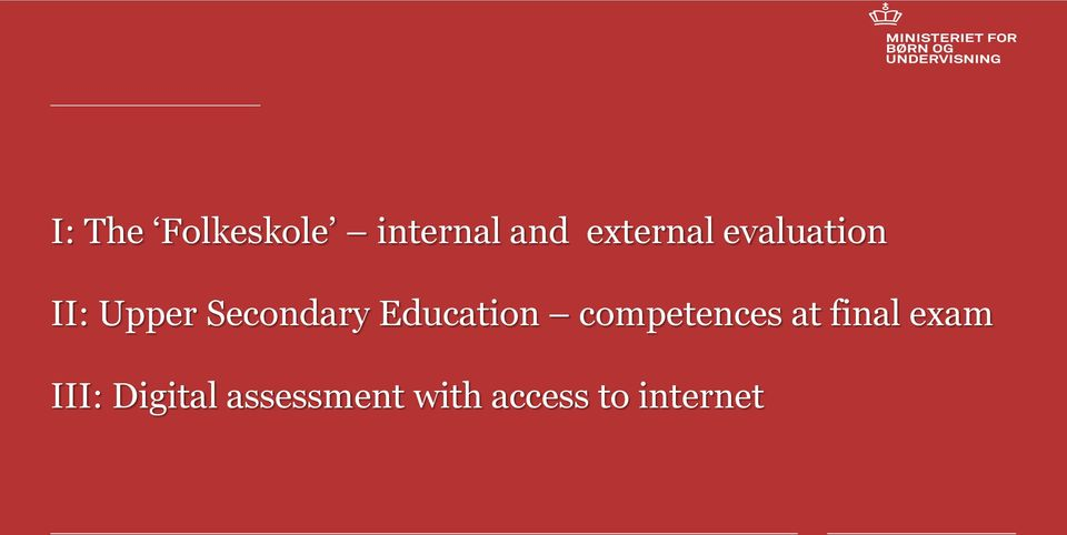 Secondary Education competences at