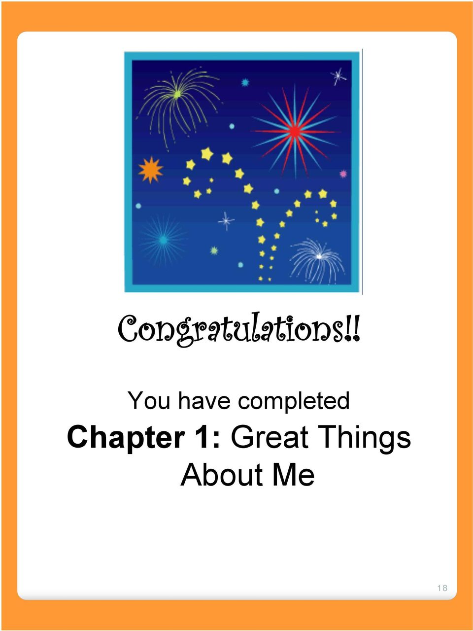 completed Chapter