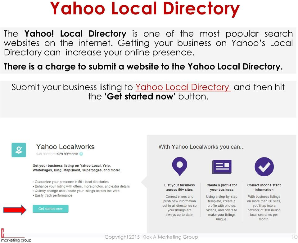 Local Online Directory Listings - PDF