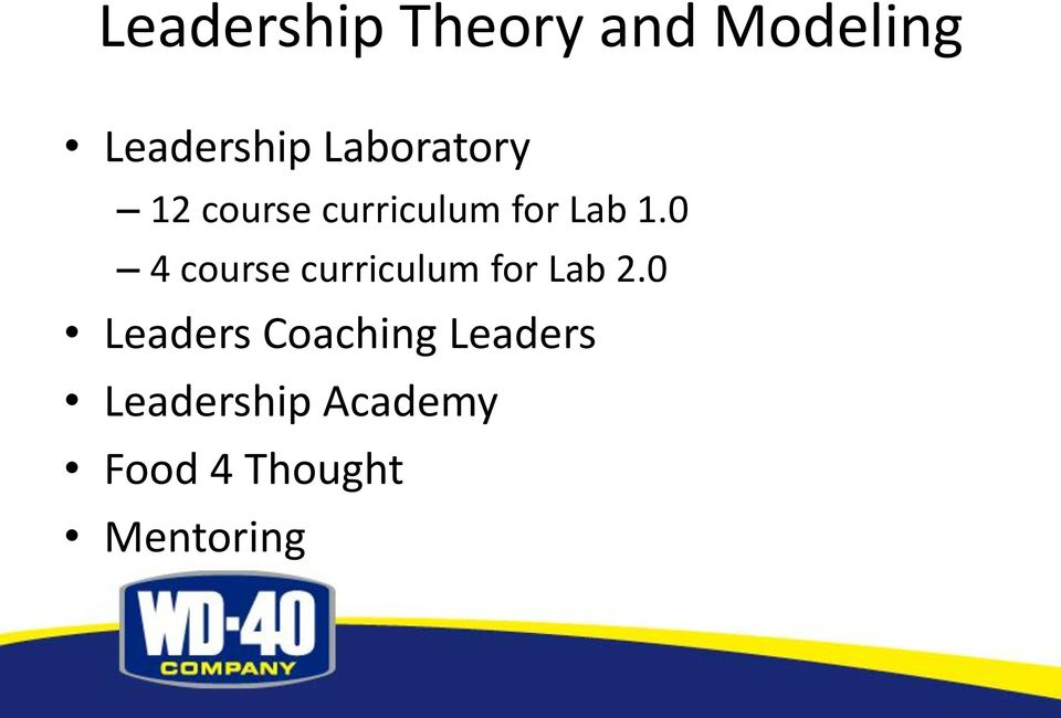 0 4 course curriculum for Lab 2.