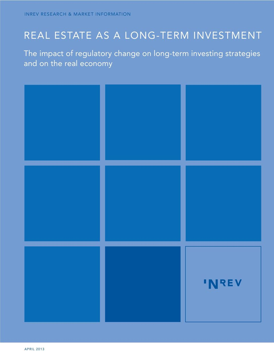 of regulatory change on long-term investing