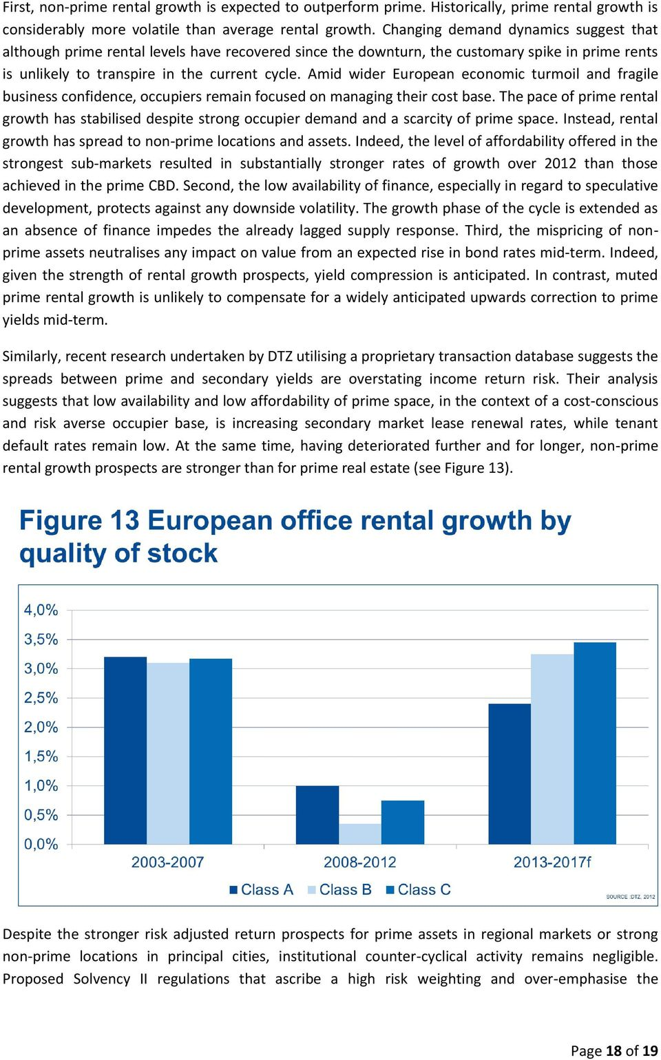 Amid wider European economic turmoil and fragile business confidence, occupiers remain focused on managing their cost base.