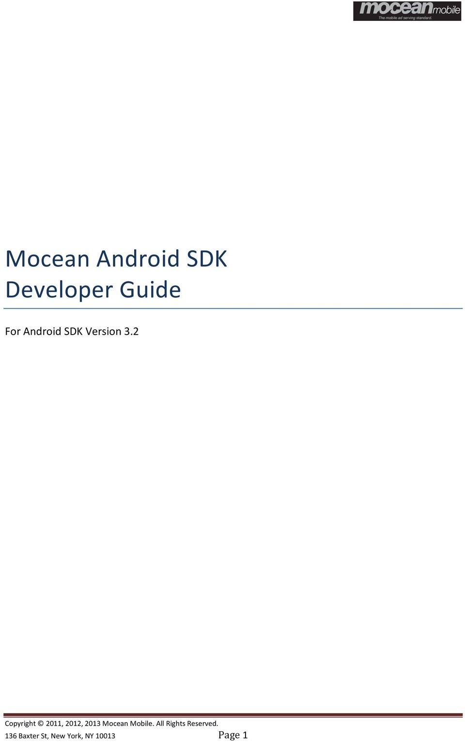 Android SDK Version 3.