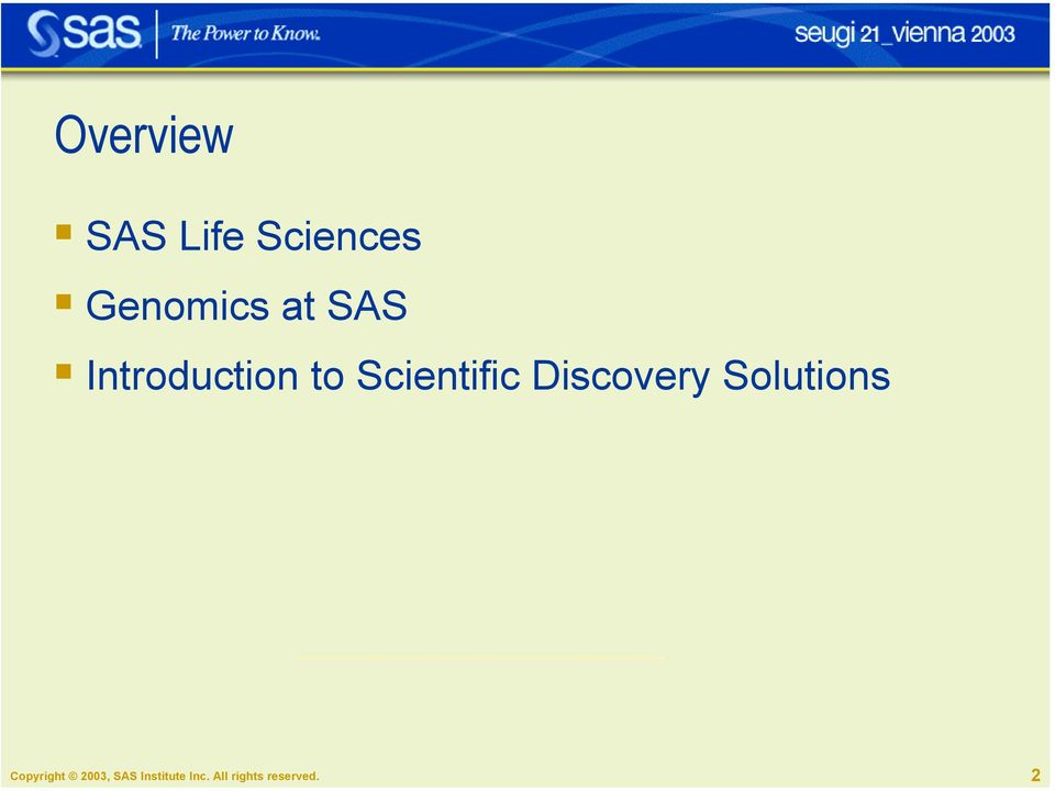 Introduction to Scientific Discovery