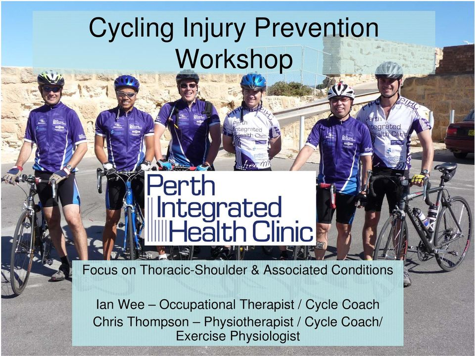 Occupational Therapist / Cycle Coach Chris