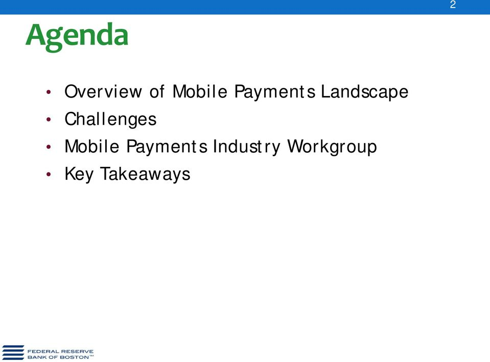 Challenges Mobile Payments