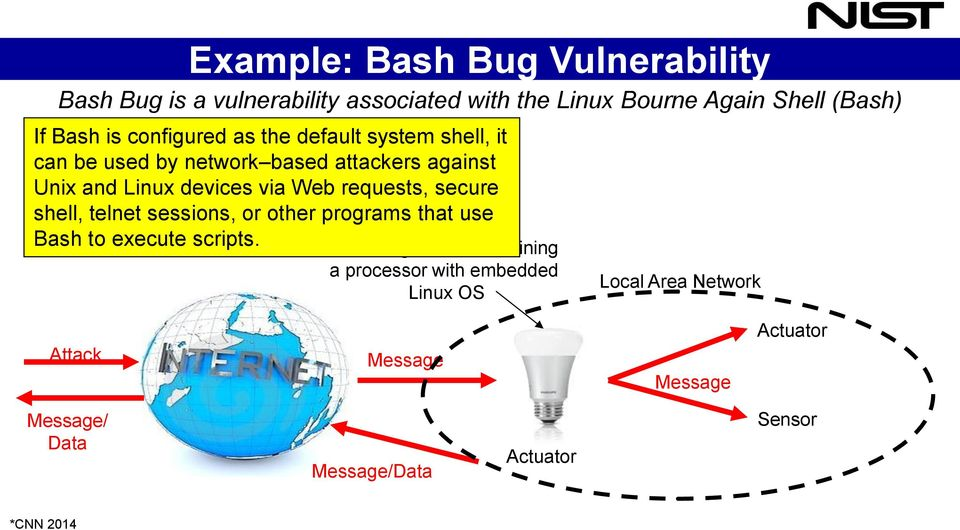 Web requests, secure shell, telnet sessions, or other programs that use Bash to execute scripts.