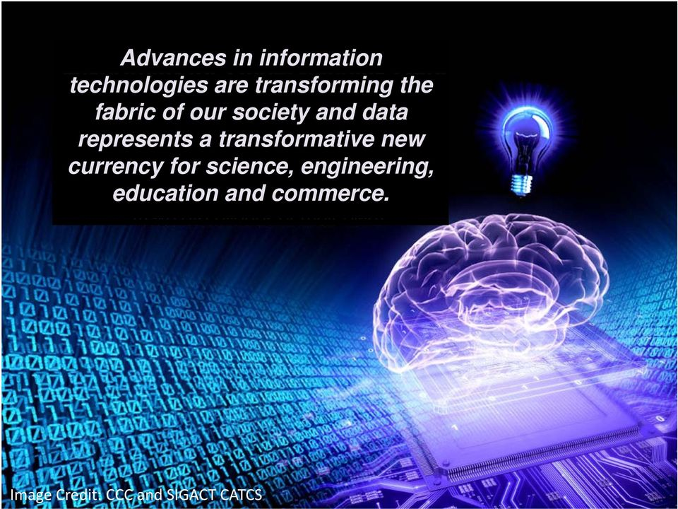 transformative new currency for science, engineering,