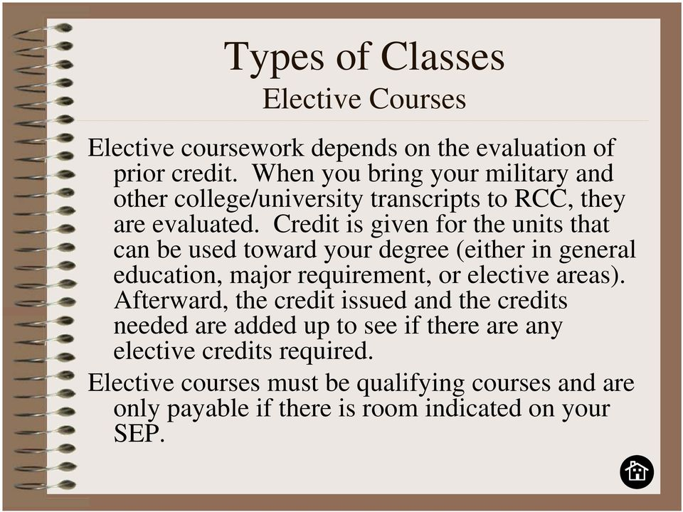 Credit is given for the units that can be used toward your degree (either in general education, major requirement, or elective areas).
