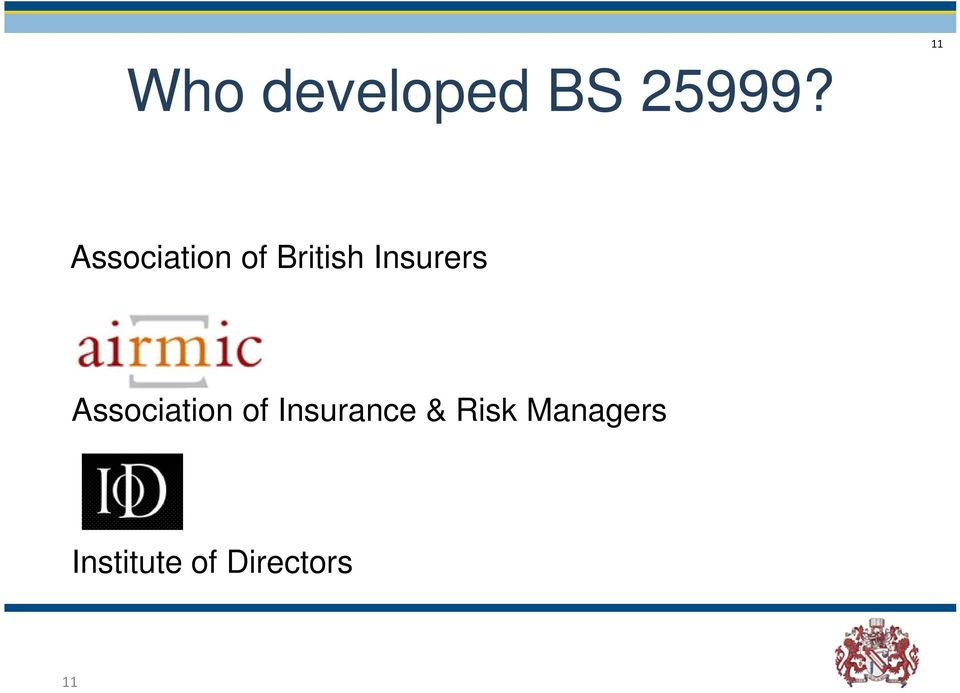 Association of Insurance & Risk