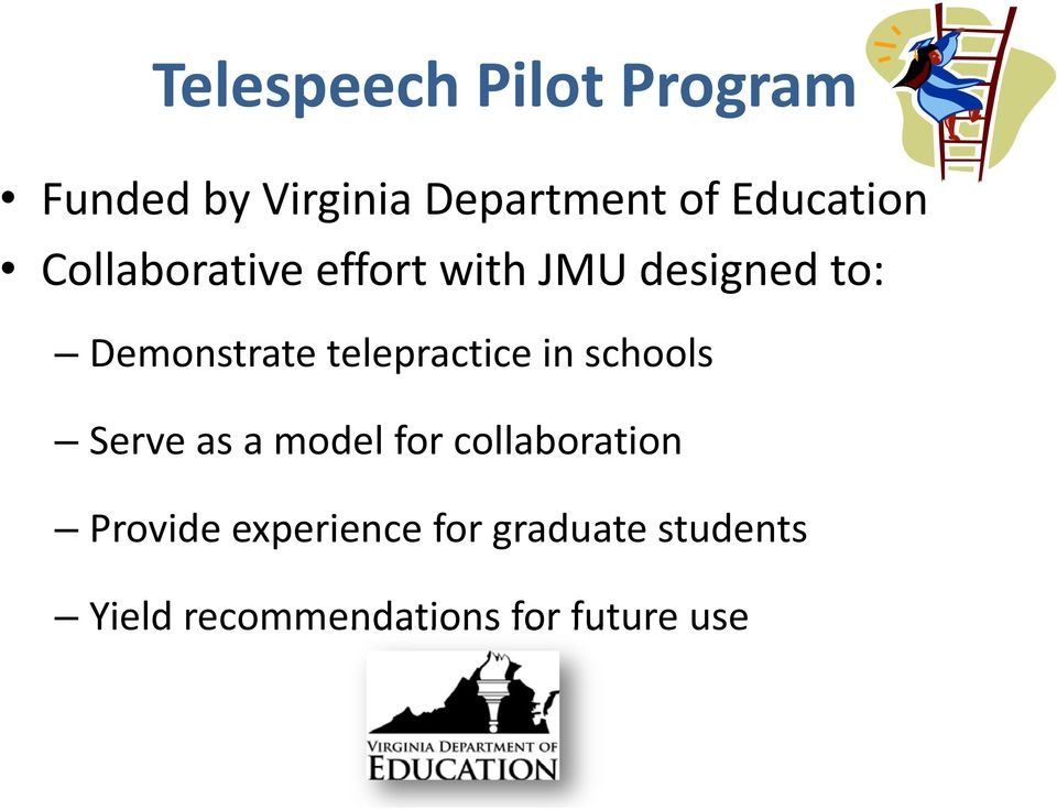 telepractice in schools Serve as a model for collaboration