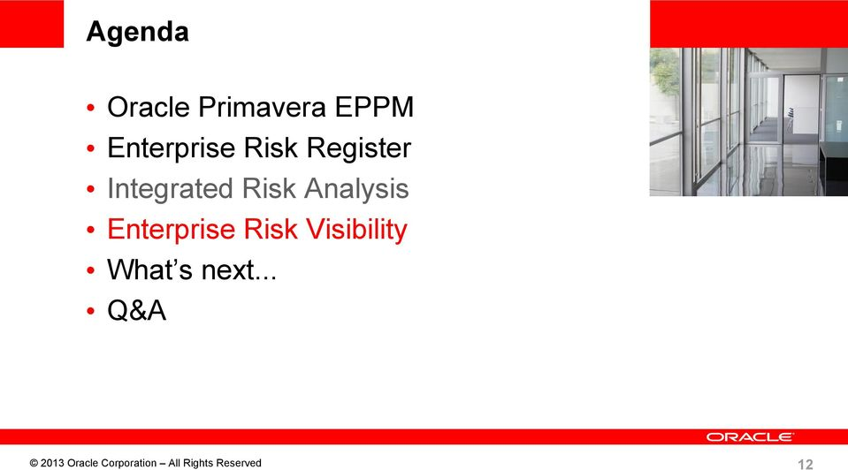 Risk Visibility What s next.