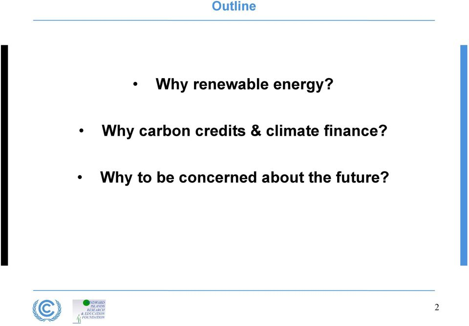Why carbon credits &