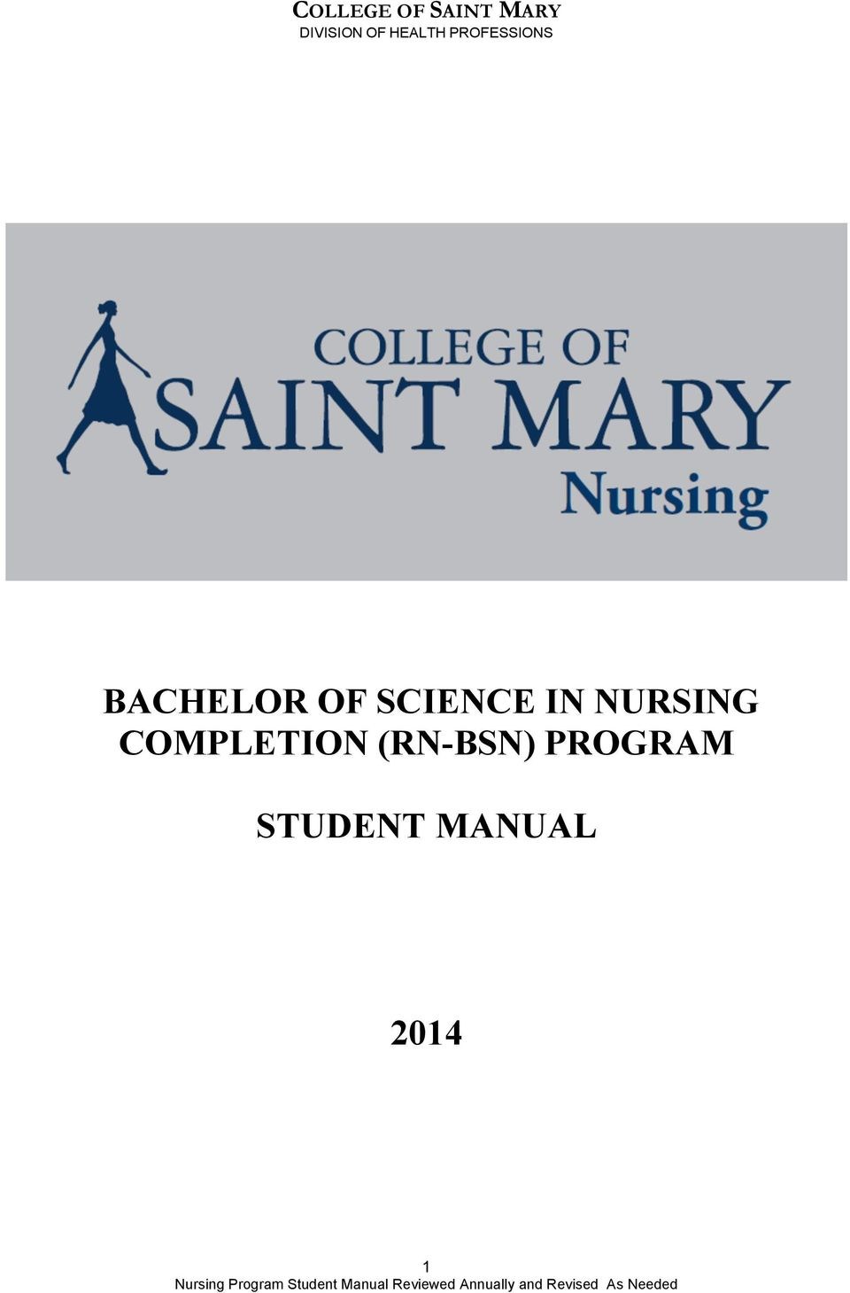 COMPLETION (RN-BSN)