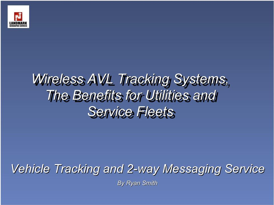 Fleets Vehicle Tracking and 2-way