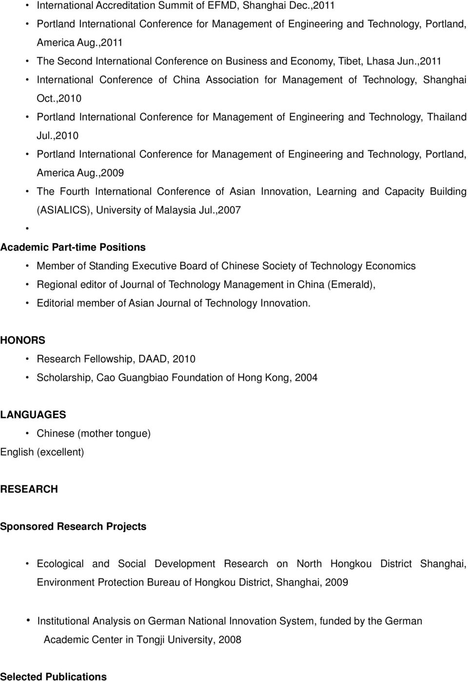 ,2010 Portland International Conference for Management of Engineering and Technology, Thailand Jul.