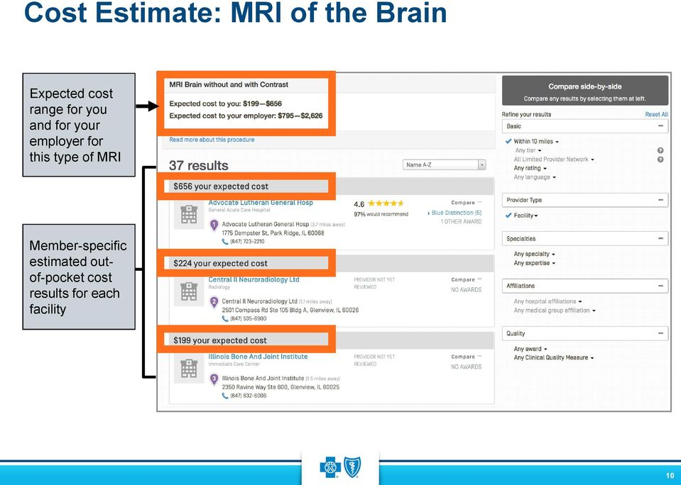 for this type of MRI Member-specific