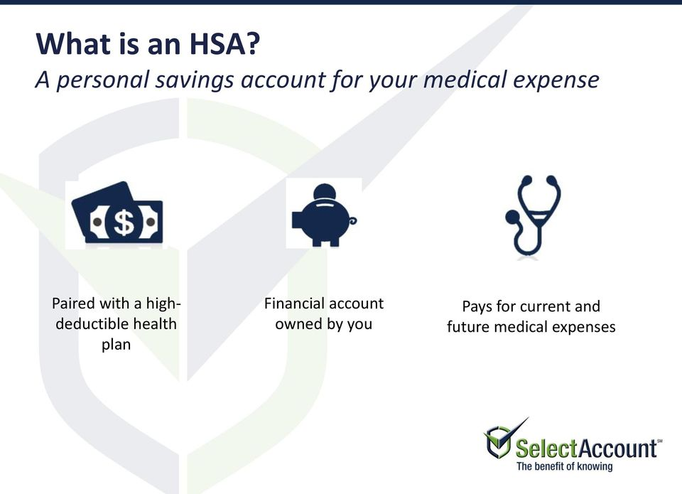 expense Paired with a highdeductible health