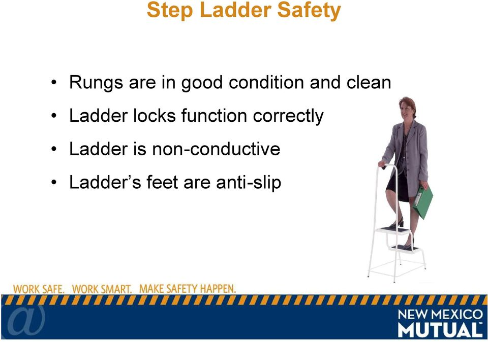 locks function correctly Ladder is